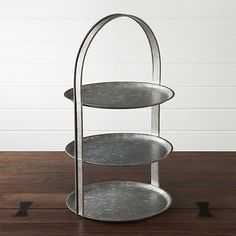 Galvanized 3-Tier Se