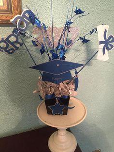 Centro de mesa graduación
