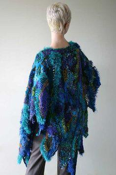 Freeform+Crochet+Bullion+Stitch+Shawl ....Prudence Mapstone