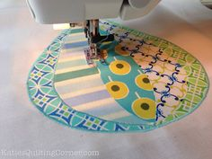 """Wander"" Hot Air Balloon Quilt by MagnoliaFly, via Flickr"