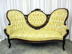 Antique Sofa, Vintage Sofa, Settee Sofa, Couch, Drink Display, Victorian Sofa, Baroque Furniture, Home Board, Victorian Fashion