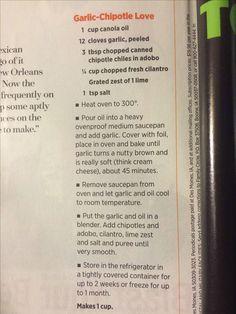 Garlic chipotle love