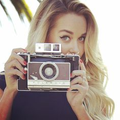 #Fun on the @LCLaurenConrad set with Lauren Conrad! #Kohls (Doesn't she have the perfect #summer curls?!)
