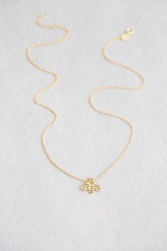 Lovoda - Honey Bee Necklace, $20.00 (http://www.lovoda.com/honey-bee-necklace/)