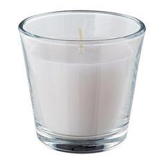 OMTALAD Vela perfumada en vaso IKEA Transforma fácilmente el aspecto de la vela colocándole el adorno para vela en vaso VACKERT.