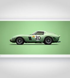 Colors of Speed – Ferrari 250 GTO Green