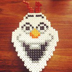 Olaf Frozen hama beads by hrhsimoneleah