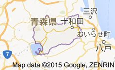 Map of 十和田市