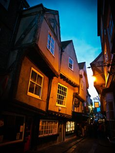 The Shambles, a medieval street in York
