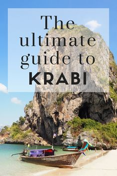 The Ultimate Guide to Krabi! // Everything you need to know about Krabi, Thailand! Click through to read the whole post! www.girlxdeparture.com
