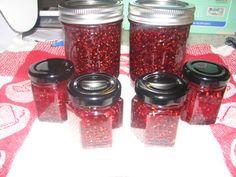 365 Days of Creative Canning: Day 2: Raspberry Vanilla Jam
