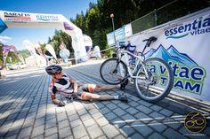 Przewróciło się niech leży - rowery w beskidach - http://www.werchomla.com.pl