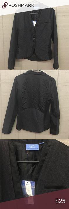 Simply Vera Wang gray and black nwt light blazer Simply Vera Wang gray and black nwt light blazer Vera Wang Jackets & Coats Blazers