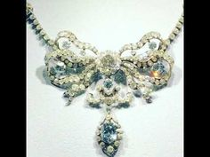 Cullinan Blue Diamond Necklace - YouTube