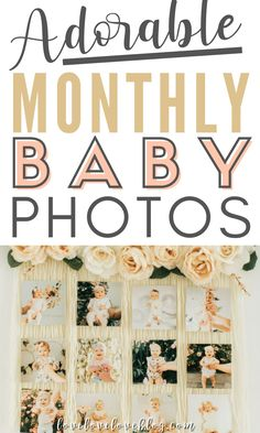 Taking monthly baby pictures is an easy way to document your little one's growth. Here are 13 creative monthly baby photo ideas that are simple and cute! These baby pictures are perfect whether you have a boy or girl. You'll love the fun and cute girl ideas and cool boy ideas using a letterboard, blanket and easy DIY props to capture your baby's first year. #newbaby #newmom #newbornbaby #pregnant #infant #photoideas #babyphotos #babyphotoideas #photography #babyphotography #photographyprops Babies First Year, First Time Moms, First Pregnancy, Pregnancy Tips, Baby Registry Checklist, Monthly Baby Photos, Advice For New Moms, Baby Month By Month, Photography Props