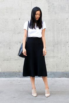 50 super chic black and white outfit ideas we love, including plenty of options for the office