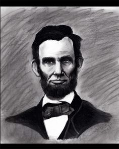 Abraham Lincoln  Charcoal