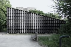 Image 5 of 9 from gallery of Best Room Pavilion / EAST + Aff Architekten. Photograph by Sebastian F. Building Costs, Building Facade, Wood Architecture, Architecture Details, Cool Rooms, Cladding, Pavilion, Cool Designs, Outdoor Structures