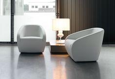 DEMA | The Arnold is a contemporary, luxurious and comfortable armchair. #Designicons #Italianfurnitue #Interiordesign