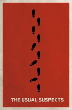 The Usual Suspects AKA the way my mind was blown in a NOT ok way.  Love this graphic