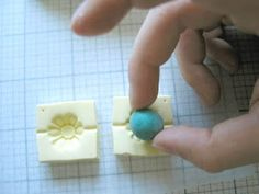 PART 2 of Violette Laporte's tutorial for making molds of buttons and using the molds to make beads.