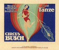 Busch circus & dance (1919) Artist - Jo Steiner
