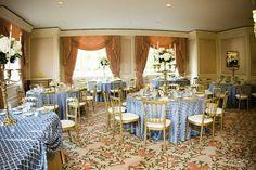 Reception at the Ritz Carlton | Photography: Kristin Mueller Photography | Wedding Planner: Cosmopolitan Events