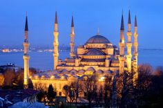 one of the finest in the world....the blue mosque in istanbul.