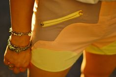 New Age Queen Pastel Stud Shorts
