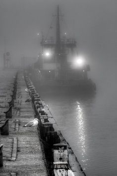 Mist / Ton Heijnen  Mist / IJmuiden , North Holland