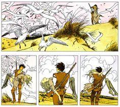 Beautiful panels by Milo Manara. #milomanara