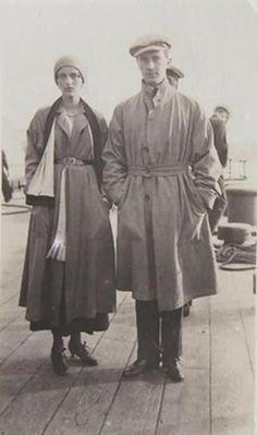 Princess Irinna Prince Felix fleeing Russia on board the HMS Marlborough, 1919
