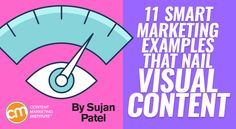 In a world overloaded with content, infographics are still effective. Learn how 11 companies elevated their content with visuals – Content Marketing Institute