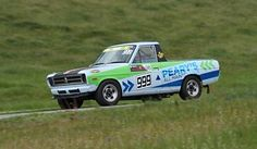 Datsun B120 ute, Mark Dixson | South Australian Hillclimb Ch… | Flickr