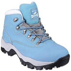 Womens/Ladies Lace Up Walking Boots >>> Want additional info? Click on the image. (This is an affiliate link) #Outdoor