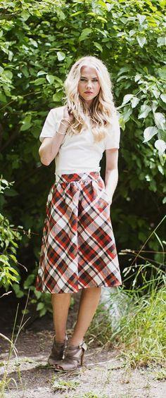 MFS3902 - A Line Skirt