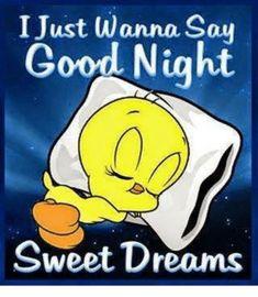 Good night Boo. See you tomorrow. Love you