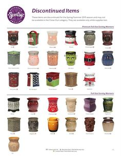 February is the time to stock up on all your favorite Scentsy products! Almost everything in the Fall/Winter 2012 Catalog* will be 10% off to make room for new Spring/Summer 2013 products.  Don't miss out!