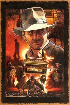 Raiders of the Lost Ark - Artwork by Mark Raats