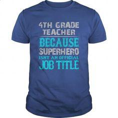 4th Grade Teacher Shirt - design your own t-shirt #funny shirts #long sleeve shirt