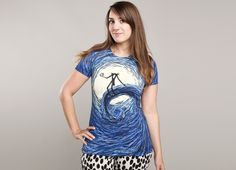 """""""The Starry Nightmare"""" - Threadless.com - Best t-shirts in the world seriously the best of both worlds"""