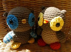 Little Owl - free crochet pattern
