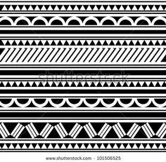 Maori / Polynesian Style tattoo bracelet