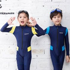 bedf3cc047 US $19.98 35% OFF|2019 One Piece Diving Suit Lycra Long Sleeve Wetsuit Kids  Swimsuit Boys Girls Bathing Suit Children Swimwear Surfing Rash Guard -in  ...