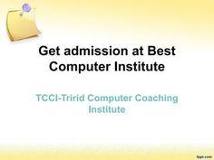 Get admission at best computer institute