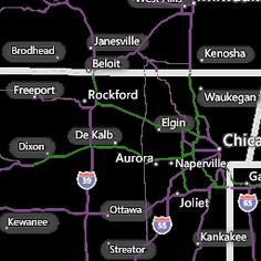 Chicago IL Interactive Weather Radar Map AccuWeathercom - Accuweather us radar map
