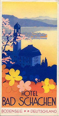 hotel bad schachen: harry maier 1932