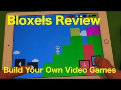 Bloxels Review, Build Your Own Video Games...With Blocks??  We Take A Look - YouTube