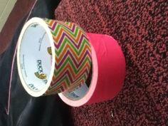 DUCKTAPE coffee tin wrapped?? pensil holder ??