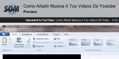 Editando mis videos y como pueden usar musica gratis de youtube!  :)